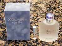 Dolce & Gabbana - Light Blue Pour Homme EDT - 5ml Sample in Refillable Atomizer