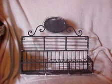 Antique Cast Iron Mid 19th Century, SITTING OR HANGING SHELF,  13 BY 11 1/2 INCH