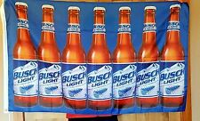Busch Light Bud Beer Flag 3' X 5' Deluxe Indoor Outdoor Banner man cave bar grey