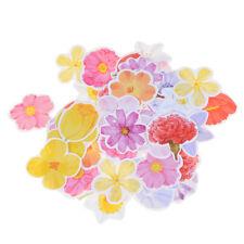 45x flor chica pegatinas romántico diario decoración DIY Scrapbook*ws