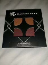 Makeup Geek Amazing Amber Eyeshadow Palette Quad Full Size NEW Sealed Fall Shade