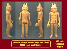 Custom Star Wars VINTAGE KENNER STYLE GOTAL RESIN CAST FIGURE force cantina solo