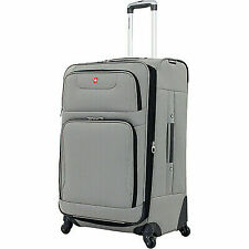 Wenger SWISSGEAR SA 7297 C 28 Spinner Expandable Upright Suitcase Pewter