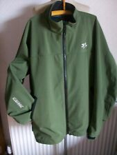 G. LOOMIS Moss Green Softshell Collared Jacket, Size XXL, New without Tags