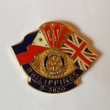 Philippines Rotary International D-3820 - GSE - Collectors Enamel pin Badge #E