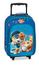 44 CatS Kinder Reisegepäck Trolley Koffer Tasche blau 32 x 42 x 16/21