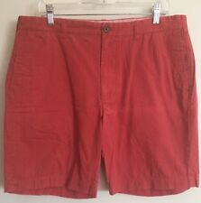 "j.crew Factory 9"" Gramercy Red Print Short Men's Size 36 Waist"