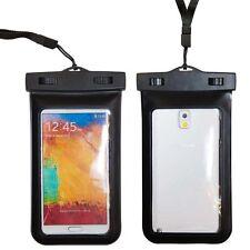 Waterproof Case Neckstrap For iPhone 6 Plus Samsung Galaxy Note 4 Edge 3 2 Mega