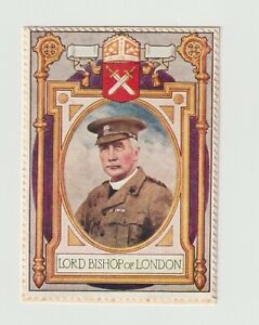 UK- Lord Roberts Memorial 1916 Appeal, Lord Bishop of London, poster stamp on ca