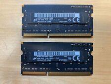 8GB (2 x 4GB) PC3-12800 DDR3-1600 Memory RAM for Apple iMac, MacBook Pro