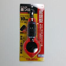 TAJIMA Auto Rewind Chalk Line Tool PS-SUM Inkpad case Sumitsubo Woodwork Hand To