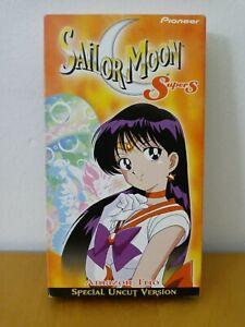 Sailor Moon Super S Vol. 3: Amazon Trio (VHS, 2002, Dubbed in English)