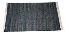 Handwoven Floor Kilim Rugs 3x5 Jute Area Rug Hand loomed Rustic Rugs Indian 5013