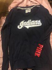 Victoria's Secret PINK Cleveland Indians Sweatshirt  Ladies Large