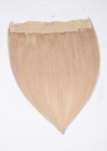Flip In Extensions weißblond #60 40cm 100 Gramm 100% Echthaar Your Hair Secret