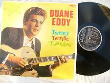 DUANE EDDY LP TWENTY TERRIFIC TWANGIES german rca nl 89318