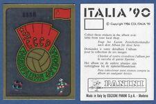 SCUDETTO CALCIATORI PANINI ITALIA 90 - NUOVO/NEW-N.133 - SSSR