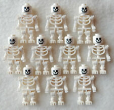 10 NEW LEGO SKELETON LOT halloween minifig minifigure figure pirates castle toy