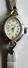 Vintage Ladies Gruen Precision Mechanical Wind Watch w/ 10kt RGP Bezel