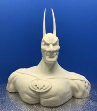 "New Batman ""Head Bust"" Pointy Ears Unpainted"" Model Head Bust- Box Not Included"
