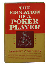 THE EDUCATION OF A POKER PLAYER by Herbert O. Yardley ~ First Edition 1957 ~ 1st
