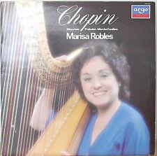 CHOPIN: Mazurkas, Preludes, Marche Funebre-M1982LP Maria Robles, HARP UK IMPORT