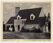 White Plains, NY - 3 large pictures of homes - ads for shingles 1940s