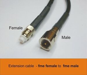 Extension cable 5m fme male  to fme female cable for mobile broadband antenna