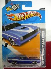 Hot Wheels 70 Plymouth AAR Cuda Muscle Mania - Mopar