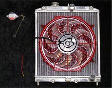 HONDA DEL SOL ALUMINUM RADIATOR, COOLING FAN & CONTROL