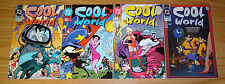 Cool World #1-4 VF/NM complete series - prequel to ralph bakshi movie set lot