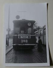 GER1939 - 1950s GROSSE LEIPZIGER STRASSENBAHNEN - TRAM No308 PHOTO Germany