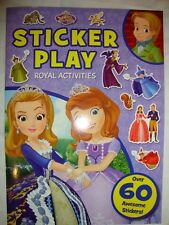 Disney Princess Sofia the First Royal Sticker Activity Book Brand New RRP £3.99