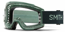 Smith Squad MTB Mountain Bike Deep Forest Split Goggles Clear Single Lens