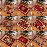 SMALL MEDIUM EXTRA LARGE RUG DESIGNER CARPET TRADITIONAL PATTERN NEW SOFT RED