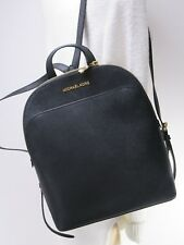 Michael Kors Large Emmy Backpack - Black