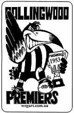 Collingwood Magpies 1950s AFL & Australian Rules Football Memorabilia