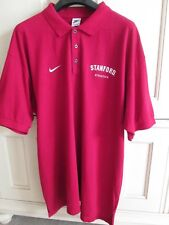 Authentic Nike Stanford College Athletics Polo Shirt Men's XXL