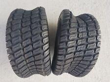 2 - 18X8.50-8 4 Ply Deestone D838 turf master style Turf Mower Tires 18x8.5-8