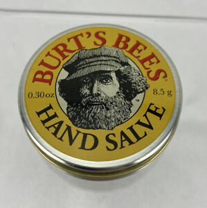 Burt's Bees Hand Salve Tin Botanical 100% Natural Farmers Friend 0.30 oz New