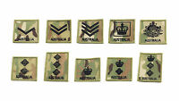 RANK PATCH VELCRO® BACKED FOR MOLLE CHEST RIG UNIFORM PACK CARRIER