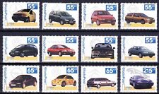 Stadspost / lokalpost complete serie 12 Auto's / Cars Postfris / MNH E-4561