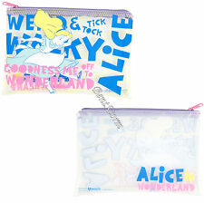 Alice in Wonderland Quote Clear Pencil Case Cosmetic Tote Bag Disney Loungefly