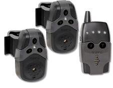 Rhino Black Cat Bissanzeigerset 2 Bissanzeiger + 1 Receiver Set Funkbissanzeiger