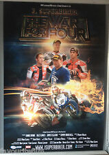 Cinema Poster: I, SUPERBIKER THE WAR FOR FOUR 2014 (One Sheet) Tommy Bridewell