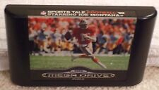 SEGA (VINTAGE) MEGA DRIVE CARTRIDGE ** SPORTS TALK FOOTBALL `93 - JOE MONTANA *