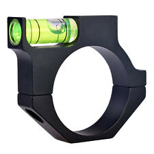 Rifle Scope Black Alloy Laser Bubble Spirit Level For Ring Mount Holder Scope