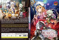 ANIME DVD ENGLISH DUBBED Goblin Slayer(1-12End)All region + FREE CD