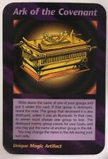 ILLUMINATI NEW WORLD ORDER CARD GAME TCG -ARK OF THE COVENANT NEAR MINT TO MINT