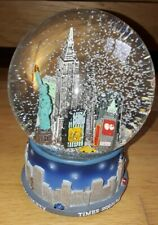 More details for new york snow globe musical wind up mechanism ..working...globe 4.5in diameter